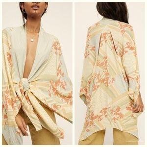 Free People Morning Glory Duster Kimono Top